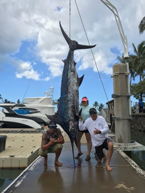 649.78lbs Landed on the Mahea B off Oahu