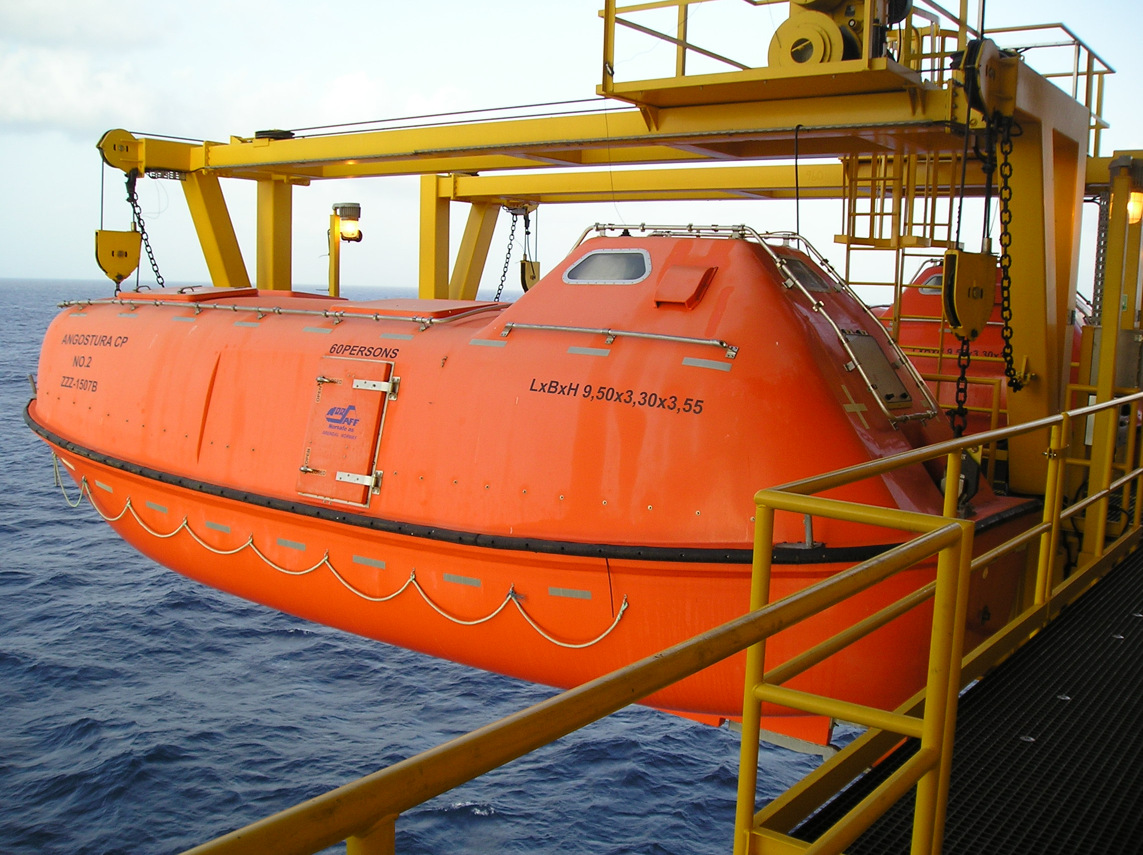 Norsafe Conventional Lifeboat