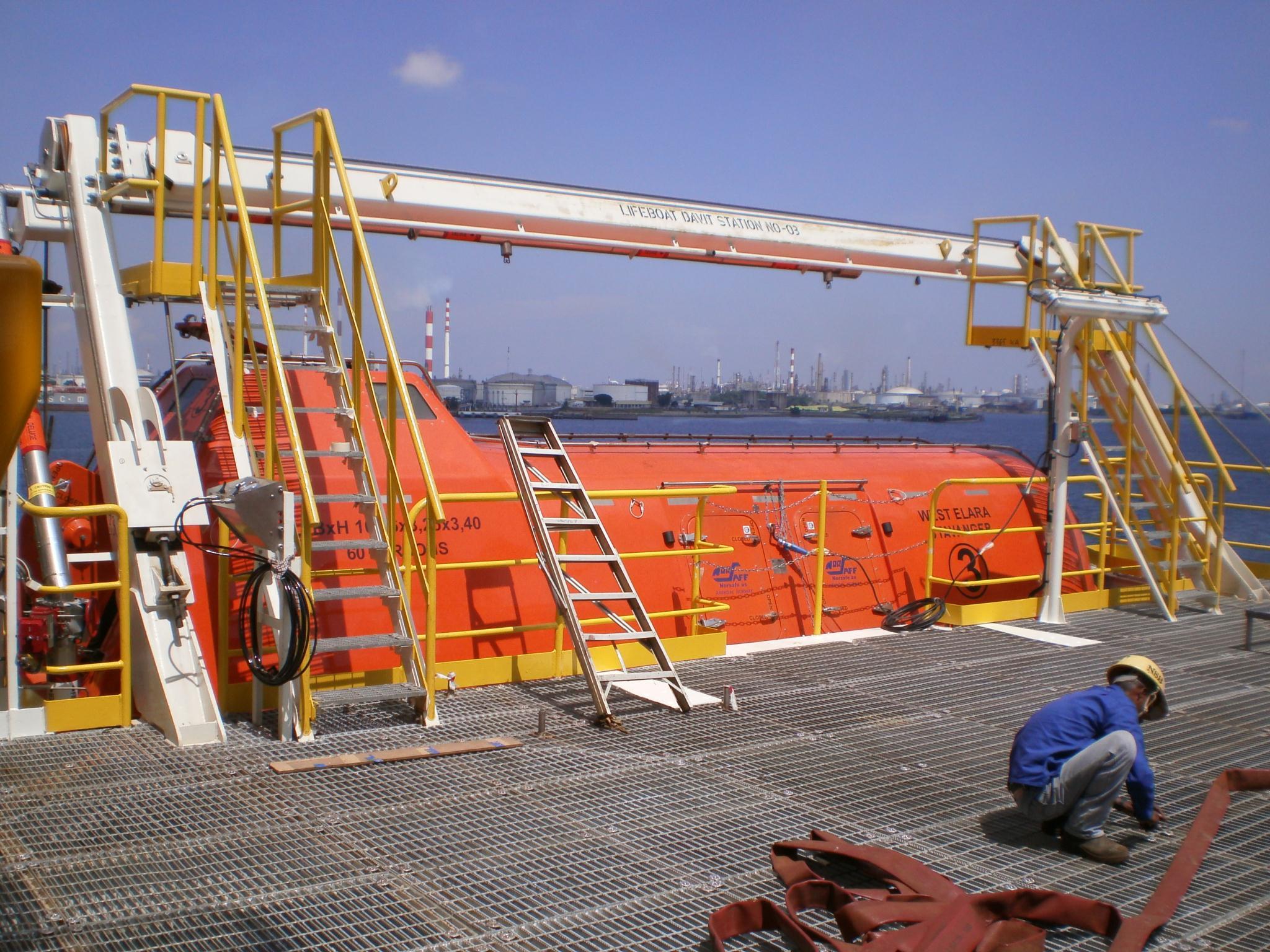 Norsafe lifeboat