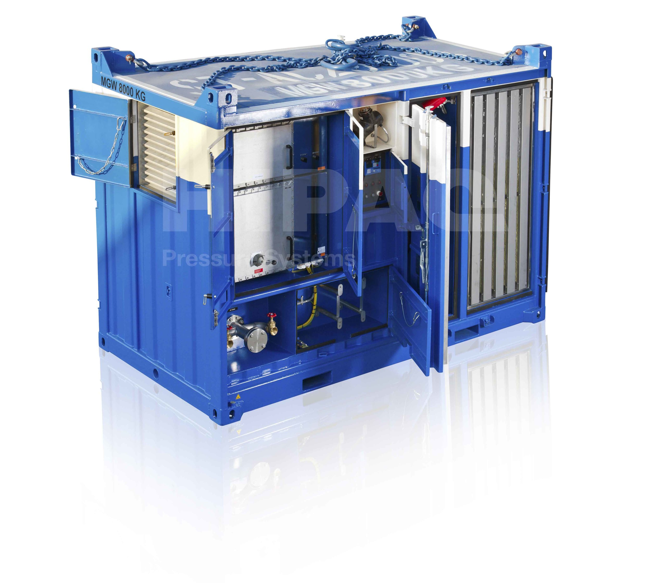 Explosion Proof Containerized Electric Air Compressor