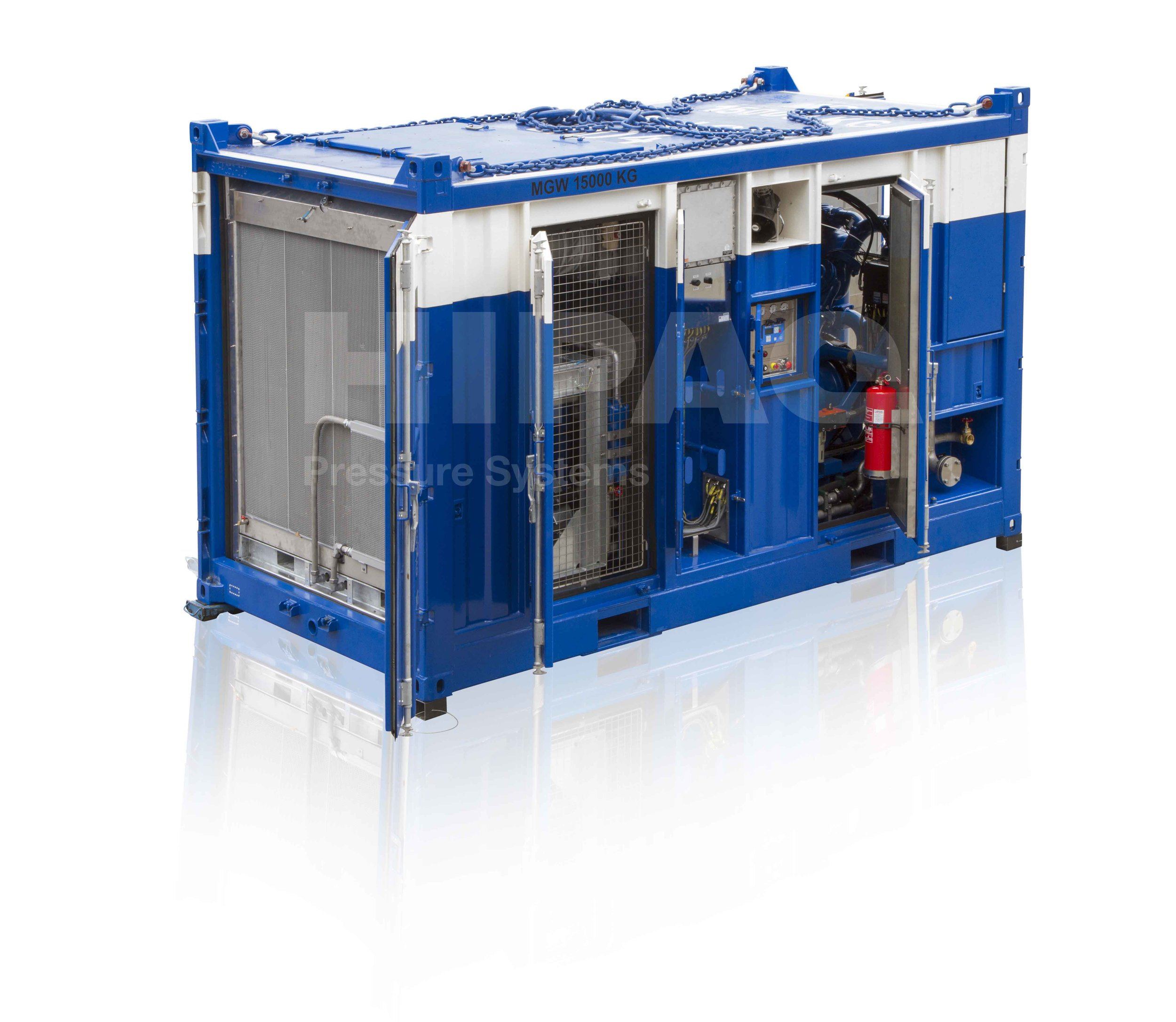 Explosion Proof Containerized Diesel Air Compressor