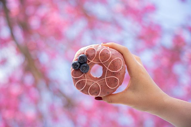 Just add summer ☀️🌺🍩 . . . . 🍩 Blueberry Earl Grey 📷 @taylorbescobyphoto #donuts #doughnuts #eatmoredonuts #idonutcare #instadaily #treatyoself #food #yum #instayum #laeats #mondaymotivation #yahoofood #donutdiet #weekendeats #la #donutsnob #donutscookiesandcream  #buzzfeast #beautiful #butfirstcoffee #nomnomnom #la #goals #instagood #photooftheday #foodstagram #donutfriday #summervibes