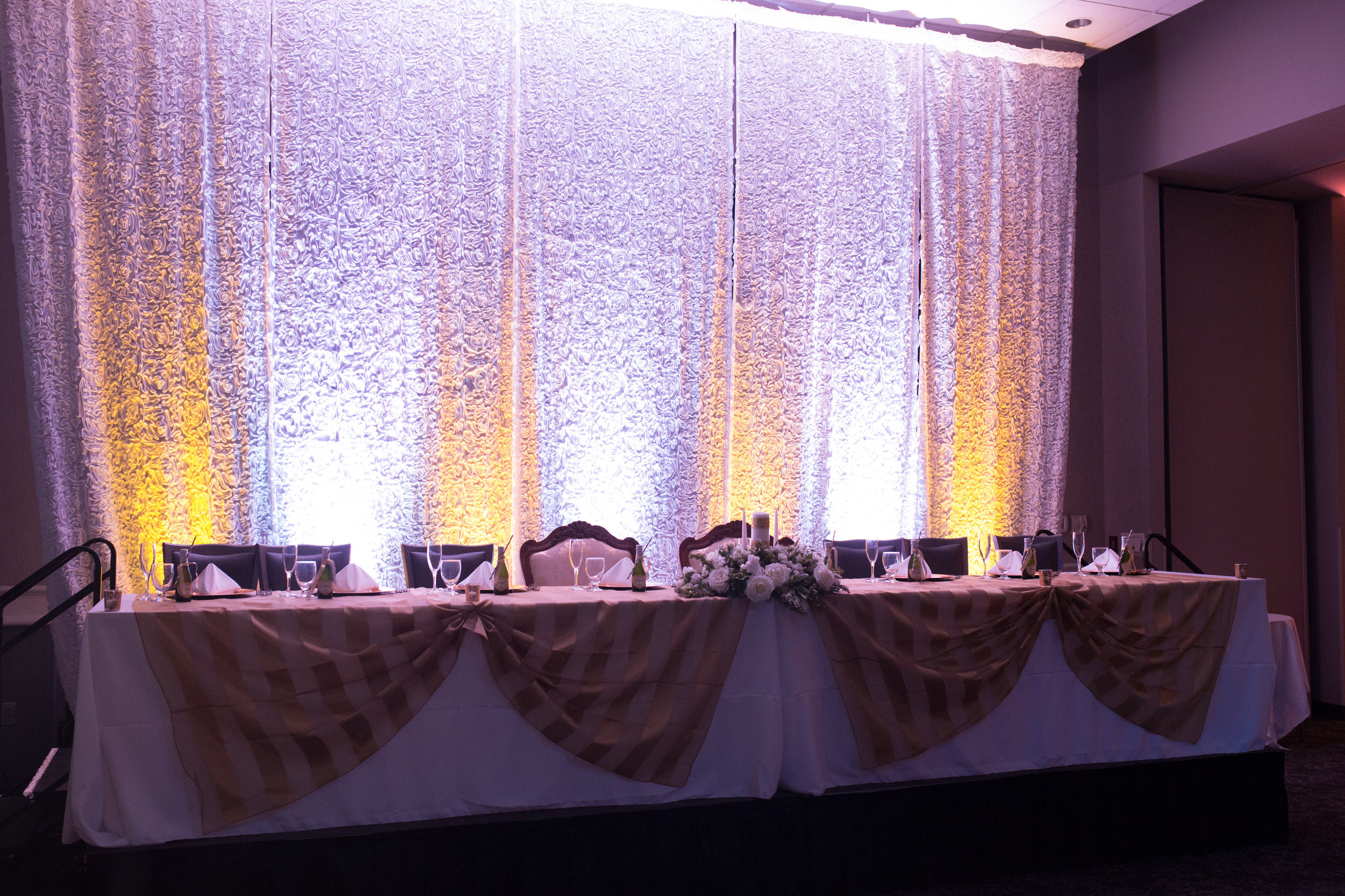 Giovanni's Open House ~ Head Table