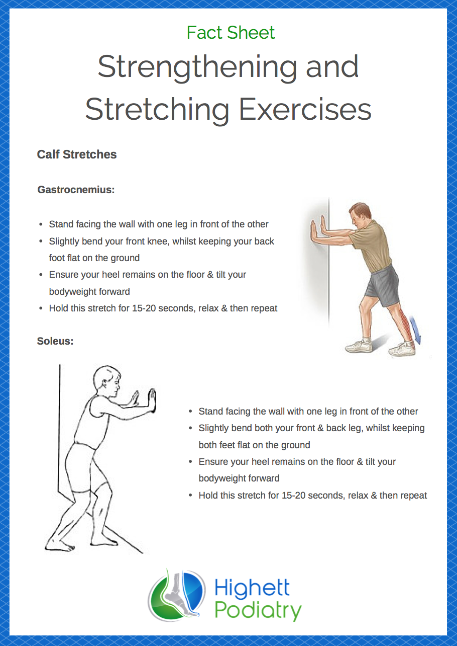 Strengthening and Stretching