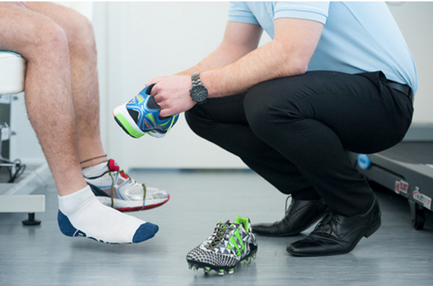 Sports footwear assessment