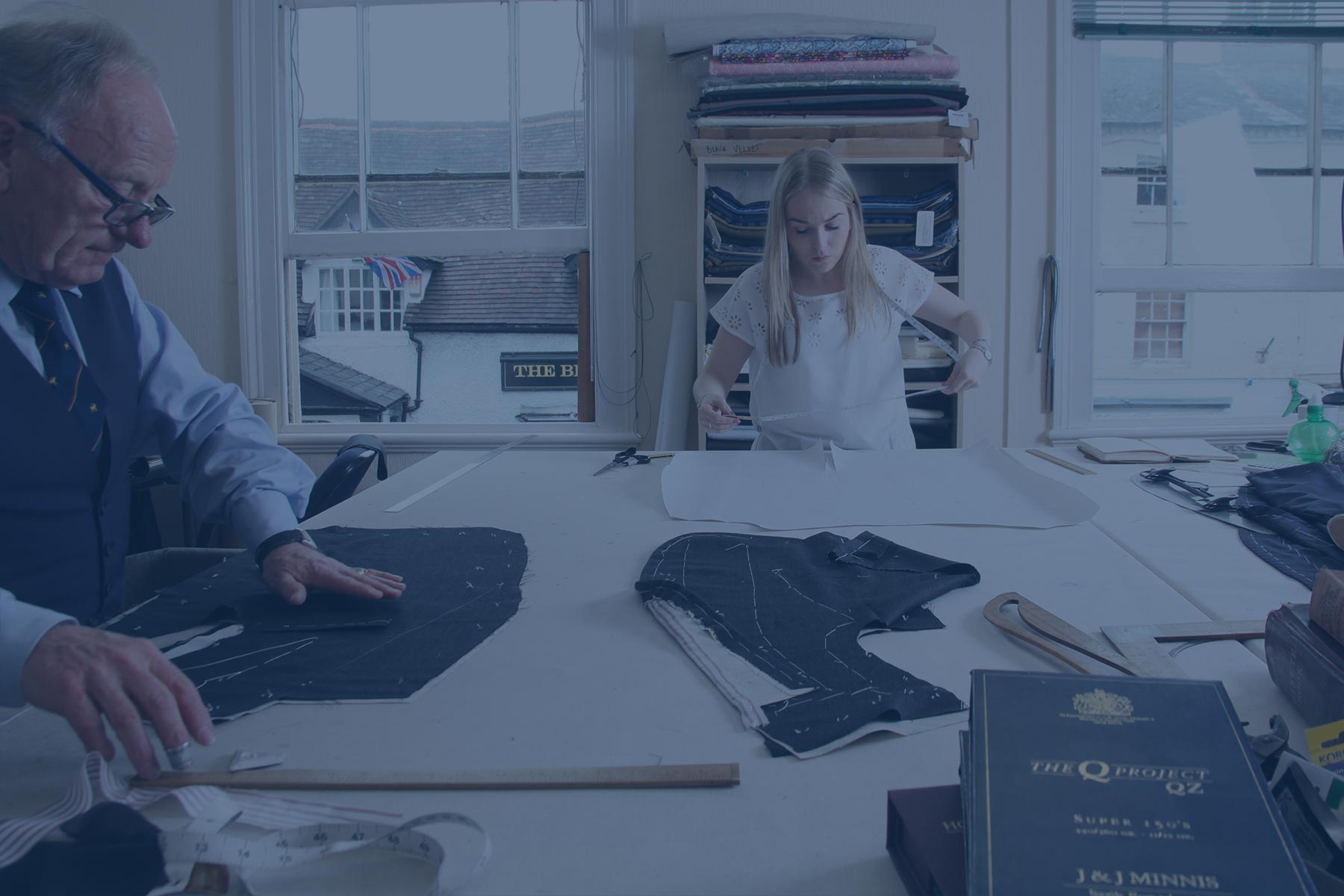Traditional & bespoke English tailors  - —