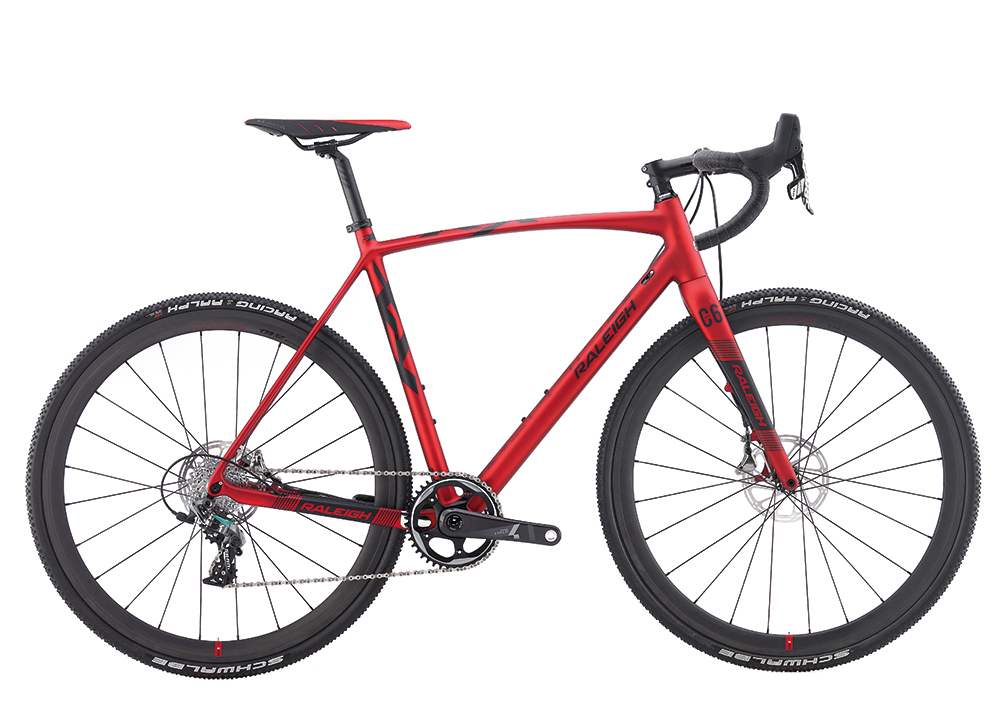 Raleigh's flagship CX model - the RX Team