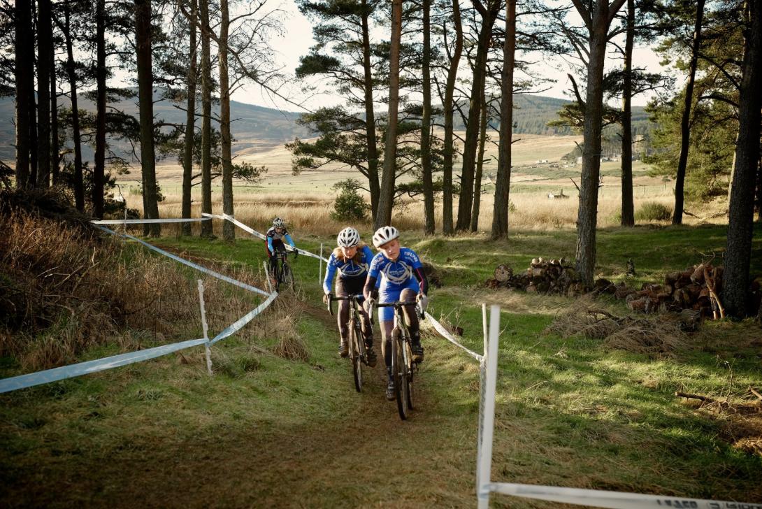 Youth Racing at Knockburn Loch. Photo: Colin Calder