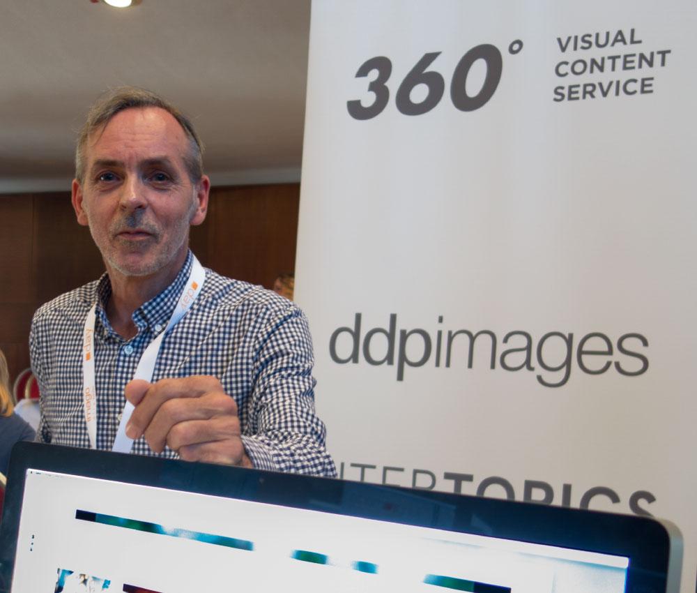 Thomas Dupont, Sales bei ddpimages in Hamburg, spricht über den Markt der Bildagenturen