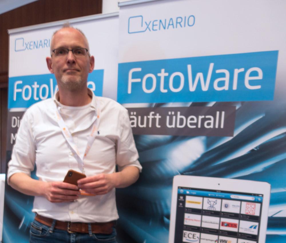 Mein kompetenter Interviewpartner: Olaf Dannhauer, verantwortlich für Marketing und Sales bei der deutschen Niederlassung von XENARIO.