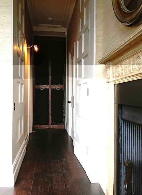 19.  Black baize for doors