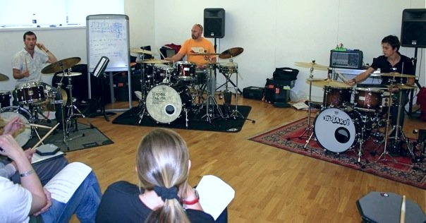 Tutoring at the  RhythmFest  Course, 2010