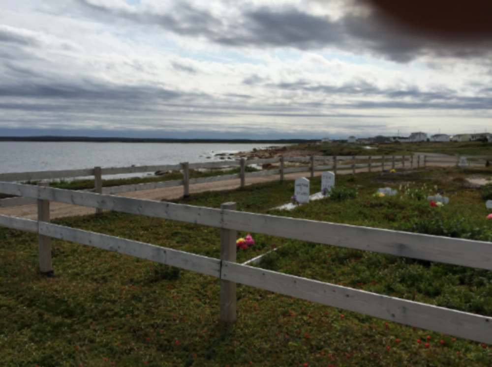 True story: this is a cemetery in Deadman's Cove, NL.