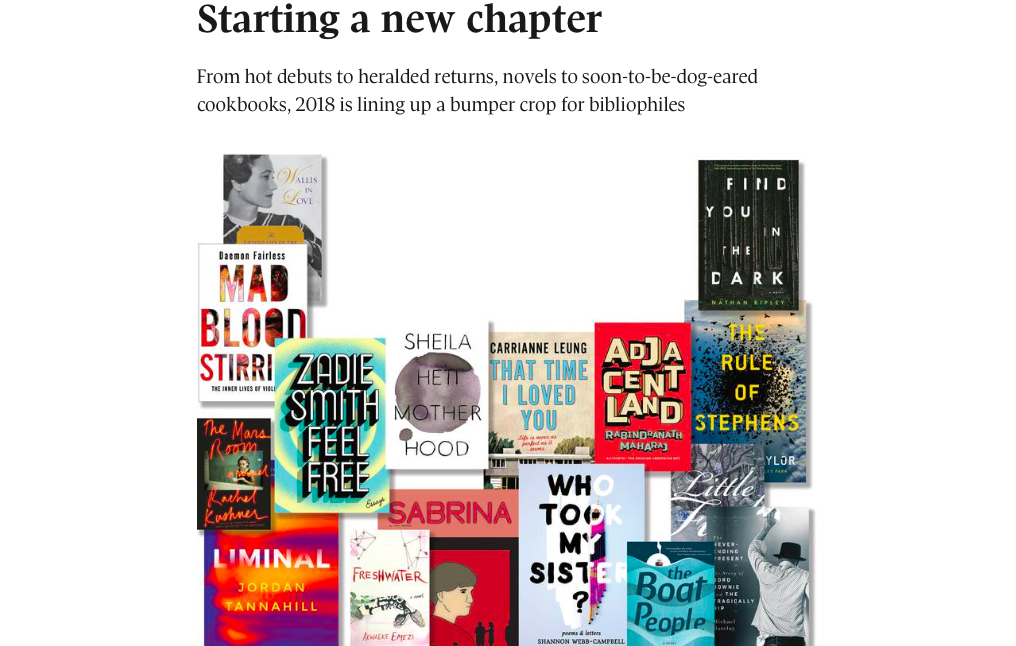 The Globe & Mail loves these books!