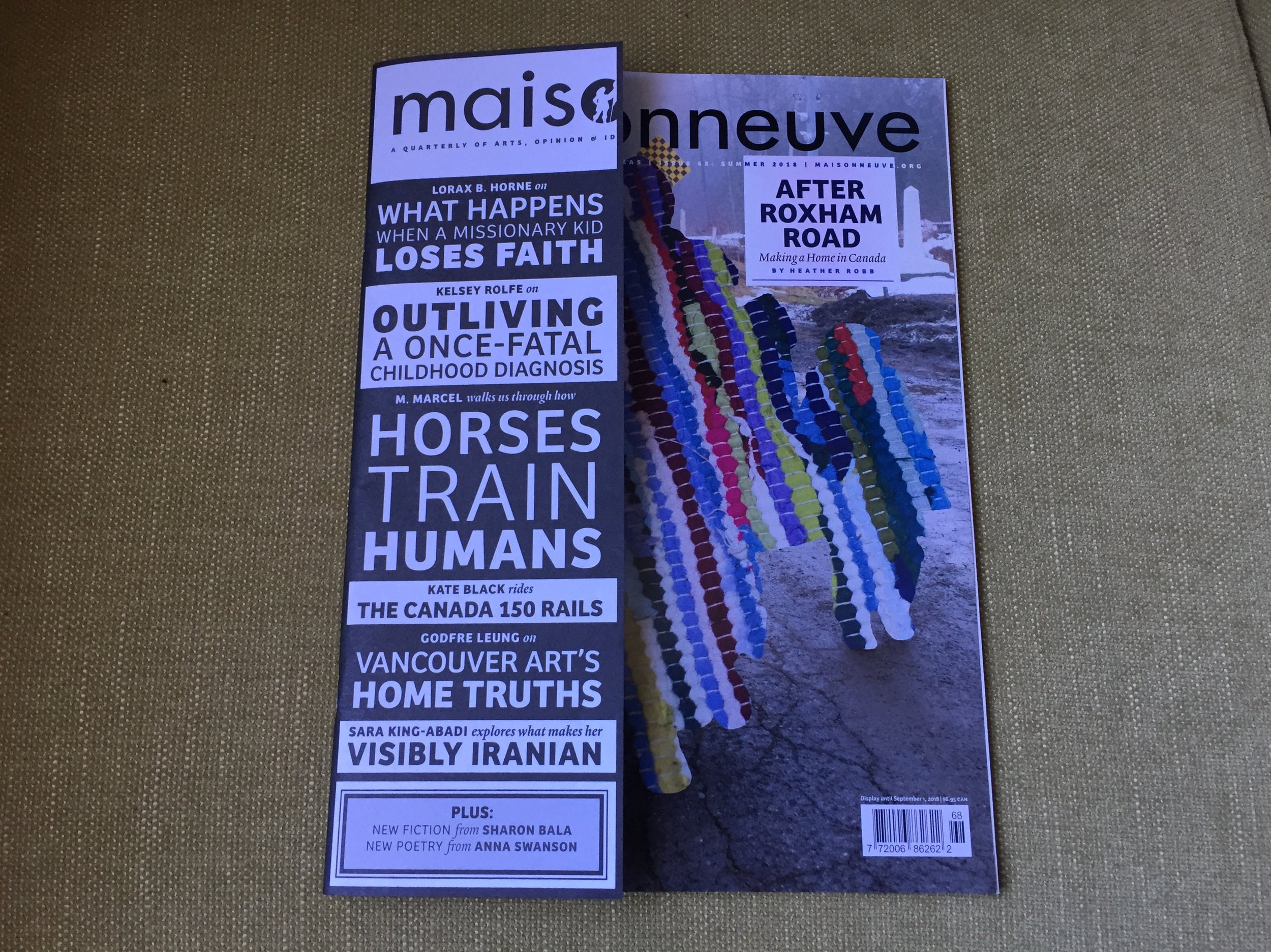 Maisonneuve, Summer 2018 issue