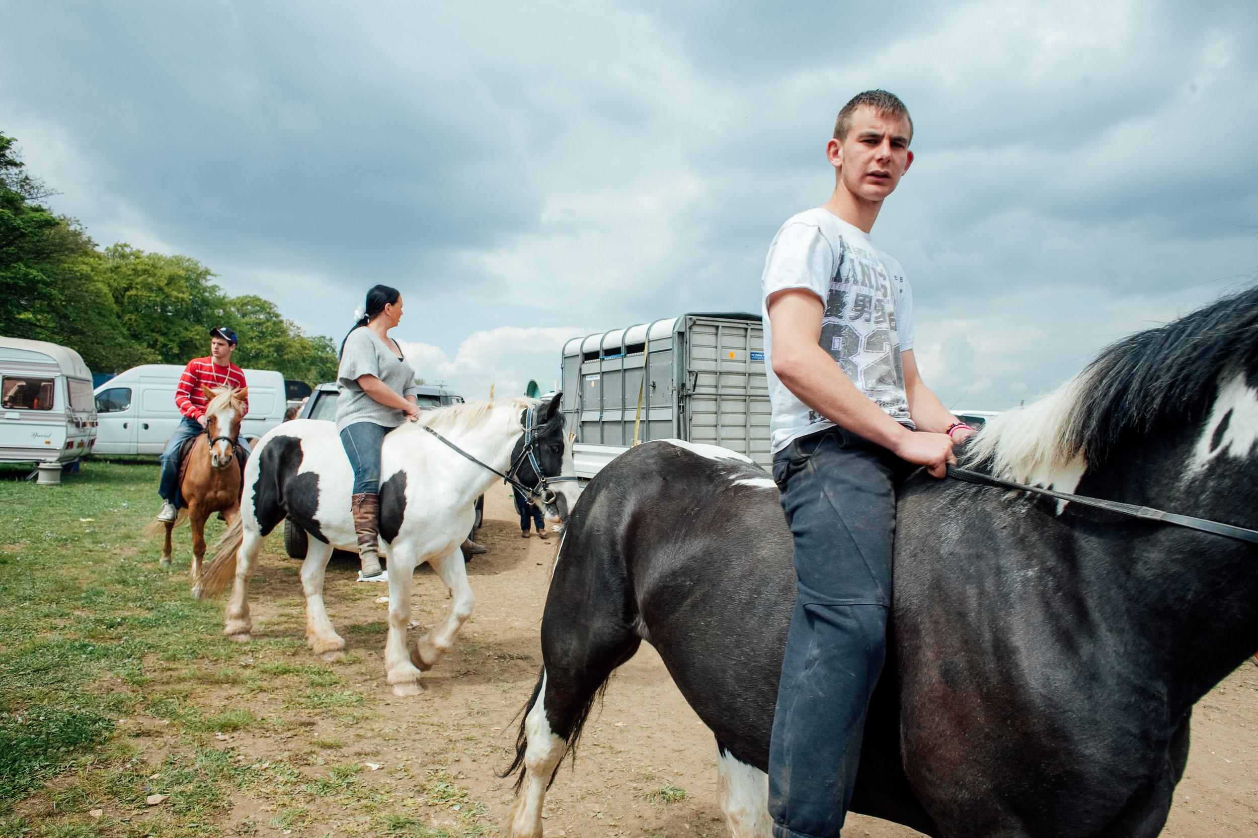 Gypsies, Stow Horse Fair 2011