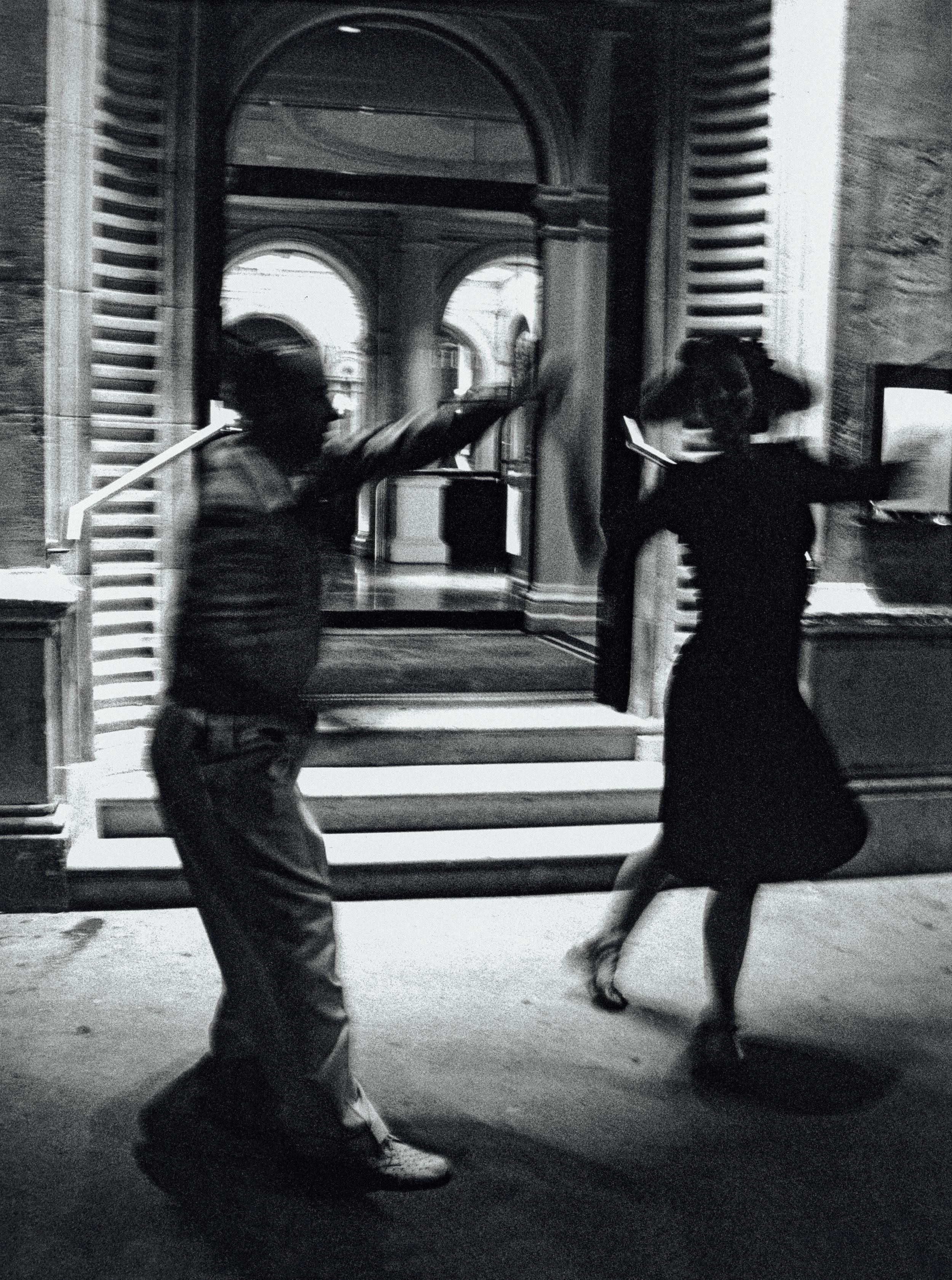 Dancers in the street, Great Eastern Hotel 2005