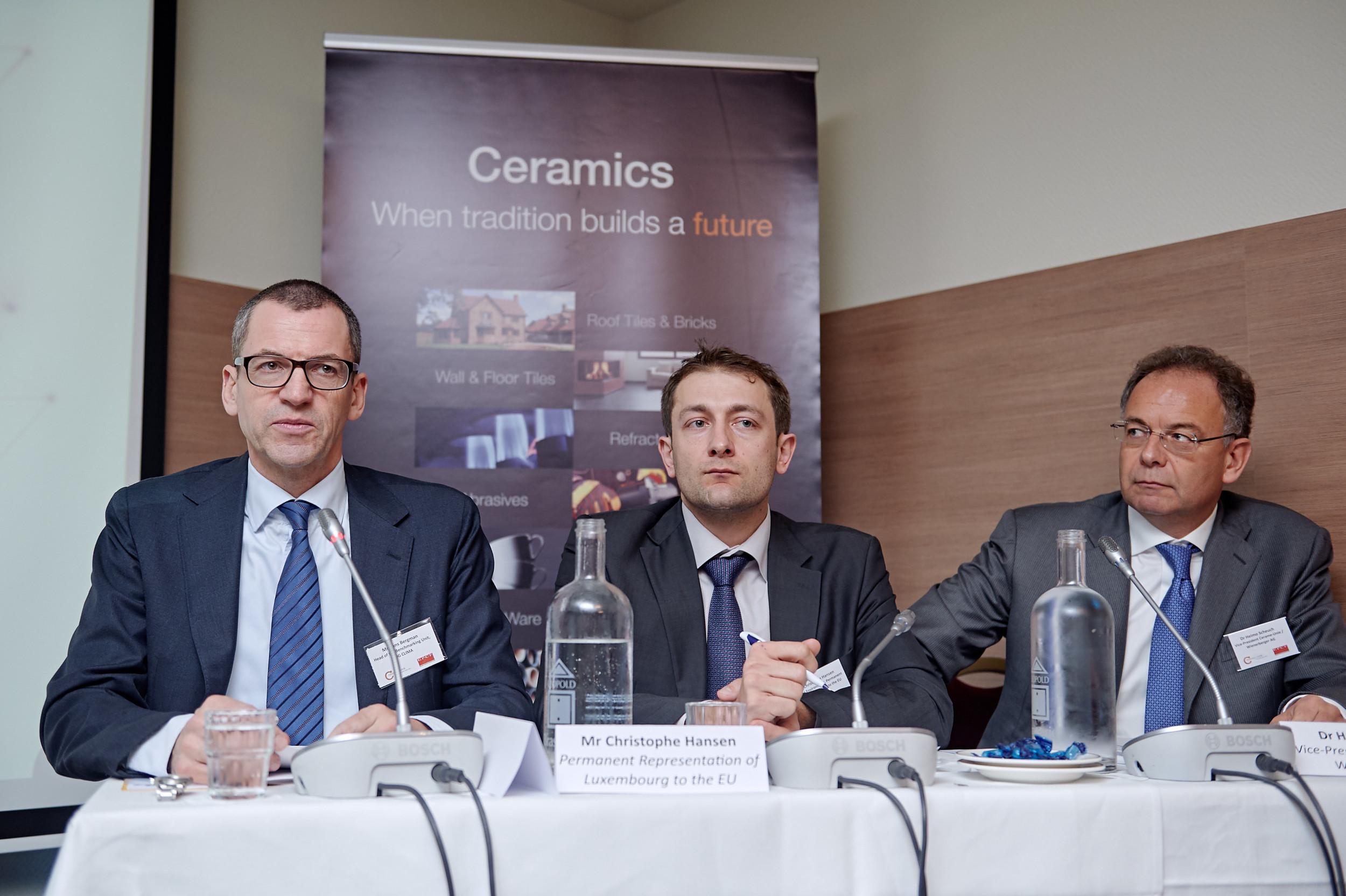 Hans Bergman,Christophe Hansen and Heimo Scheuch