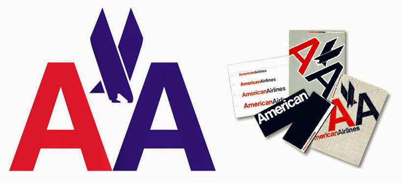 Massimo's logo's for American Airlines