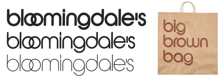Massimo's logo's for Bloomingdales