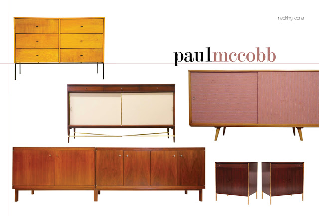 A collection of credenzas designed by Paul McCobb, 1950's-1960's