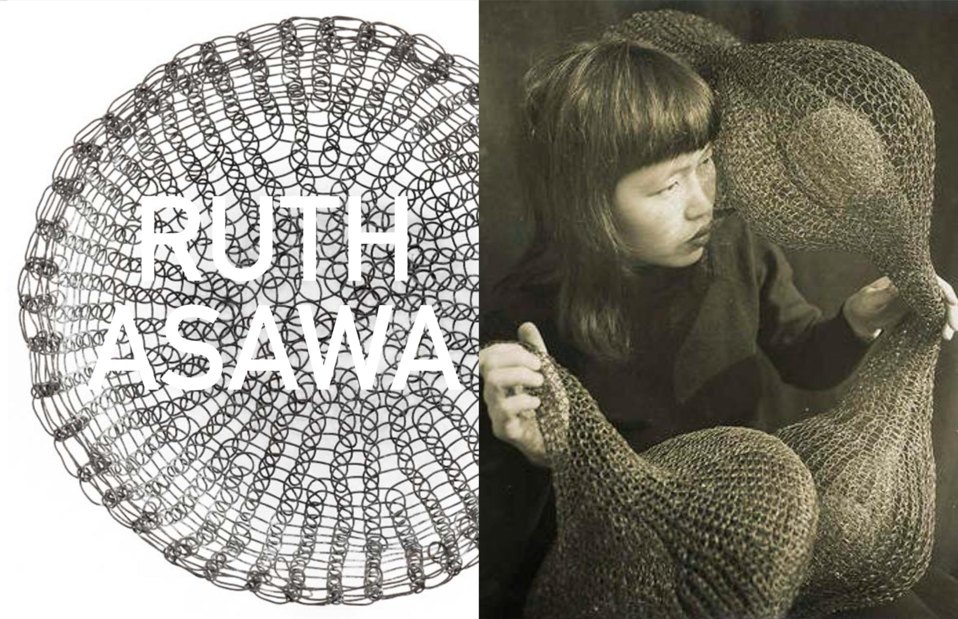 Left: Bowl, 1950's, Right: Portrait by Imogen Cunnningham