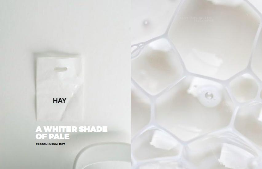 Left: We love  Hay Copenhagen Right: Refreshing milk