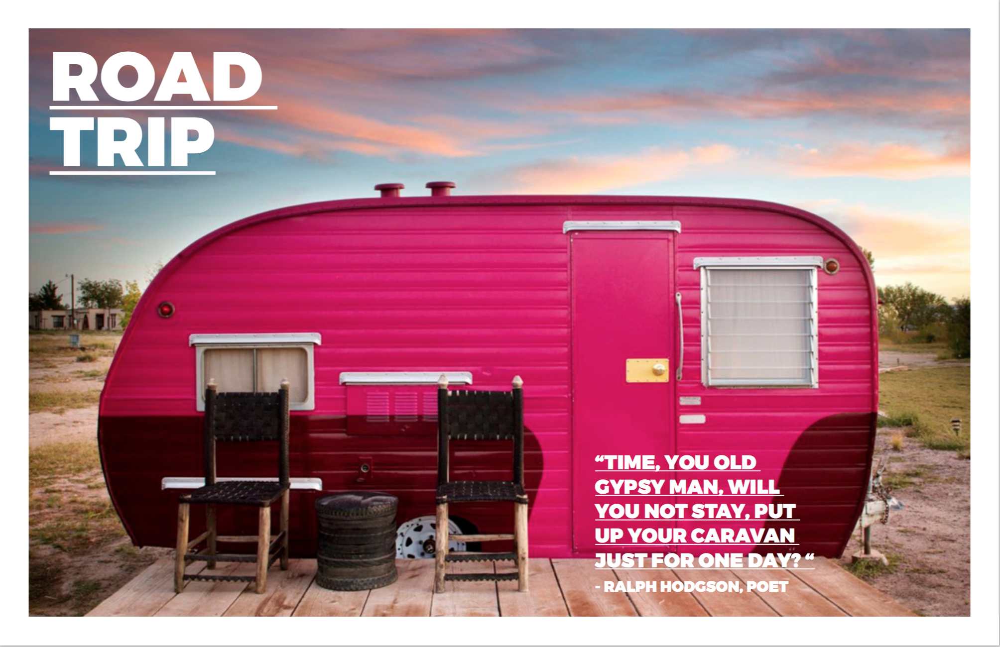 Trailers from another era have a new life and are permanently off road at  Hotel El Cosmico  in Marfa/ Texas. This picture first appeared in Hotels we Love at the  Dwell website .