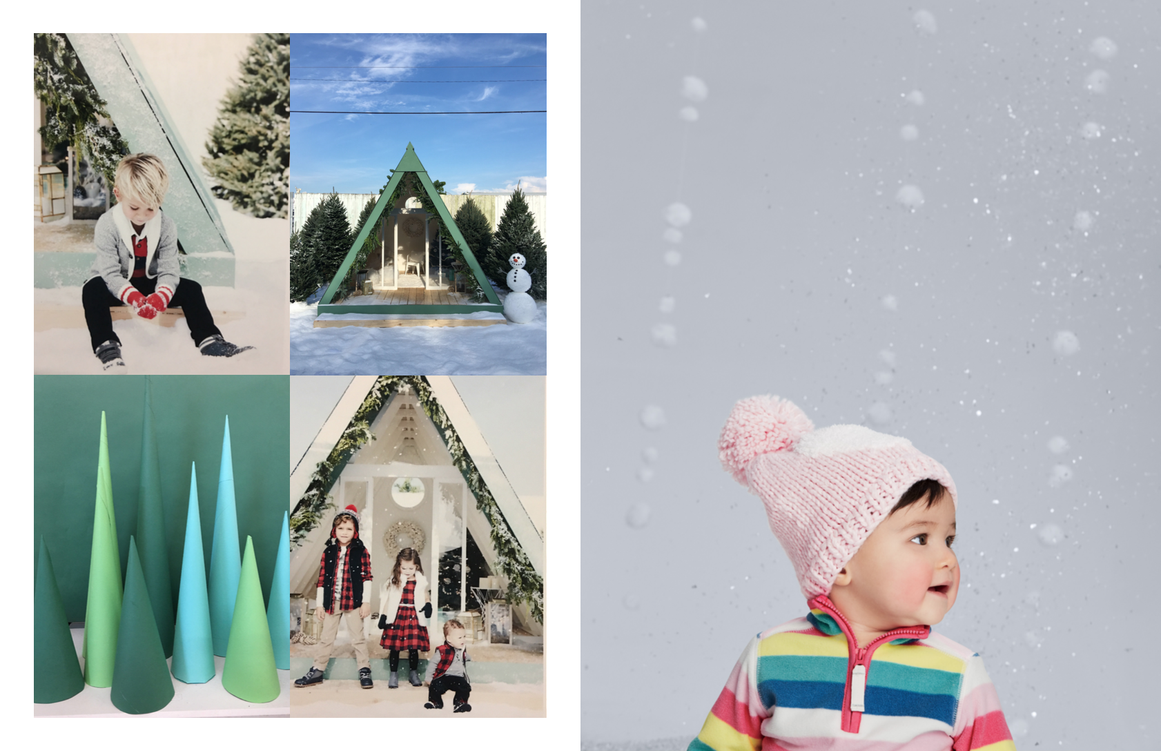 Left: Photography: Tim Marsella, Marcus Hay, Right: Tim Marsella, Set and Prop Styling: Marcus Hay for SMH, Inc