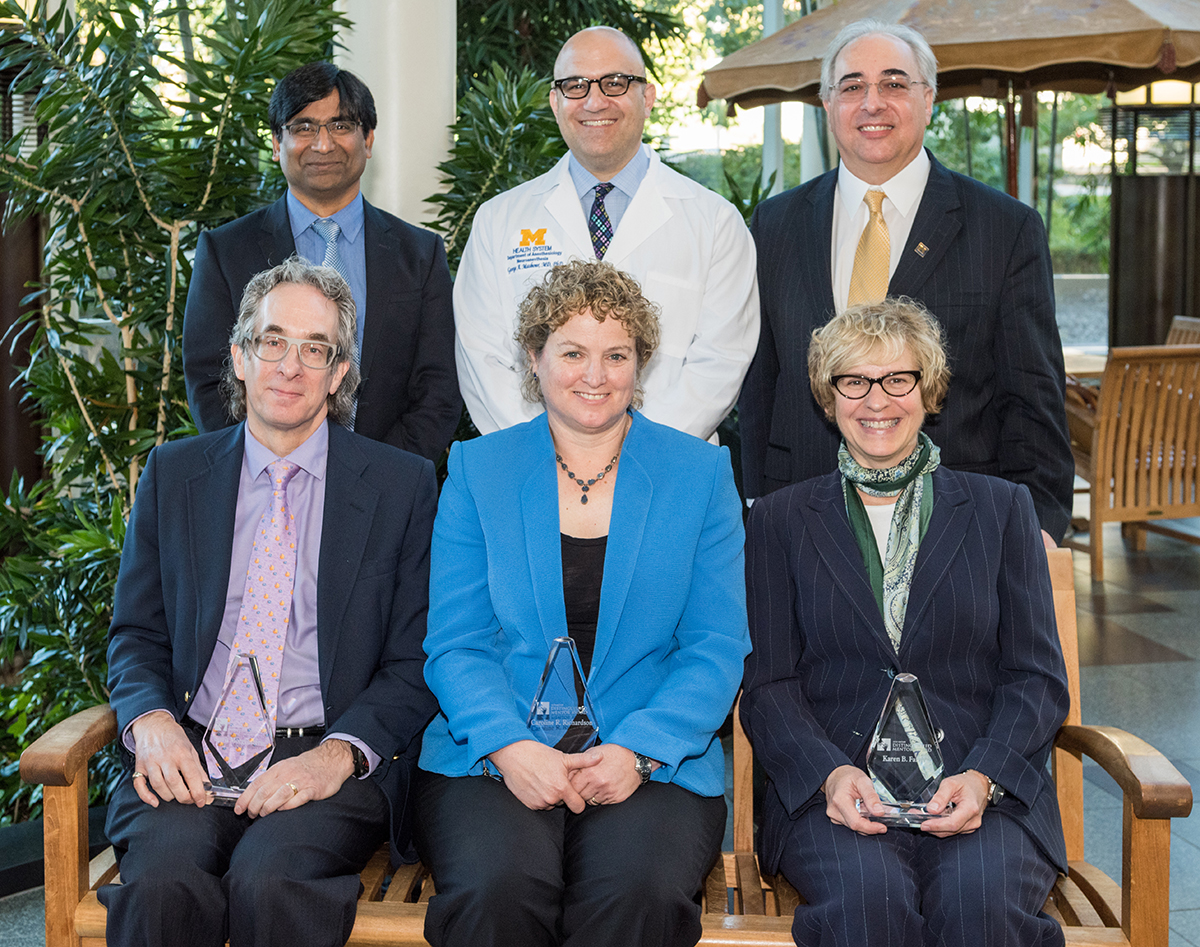 2016 mentor awardees with George med.jpg