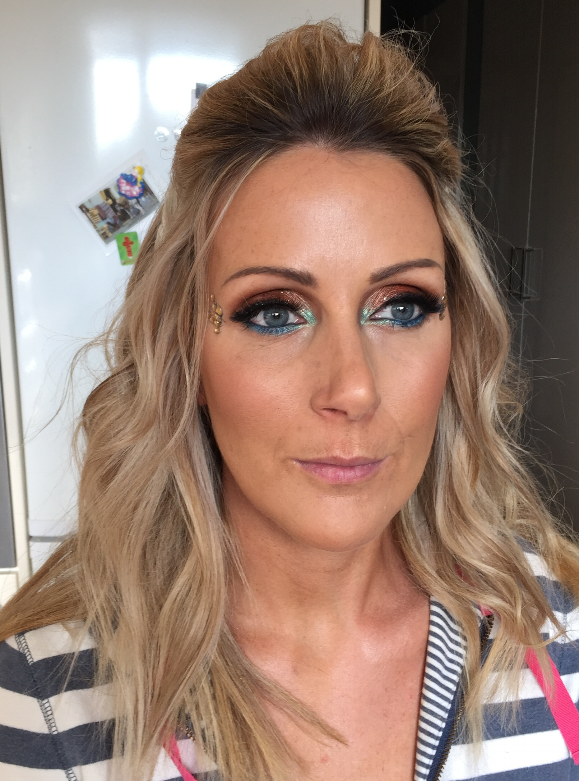 Summer Party Hair & Makeup