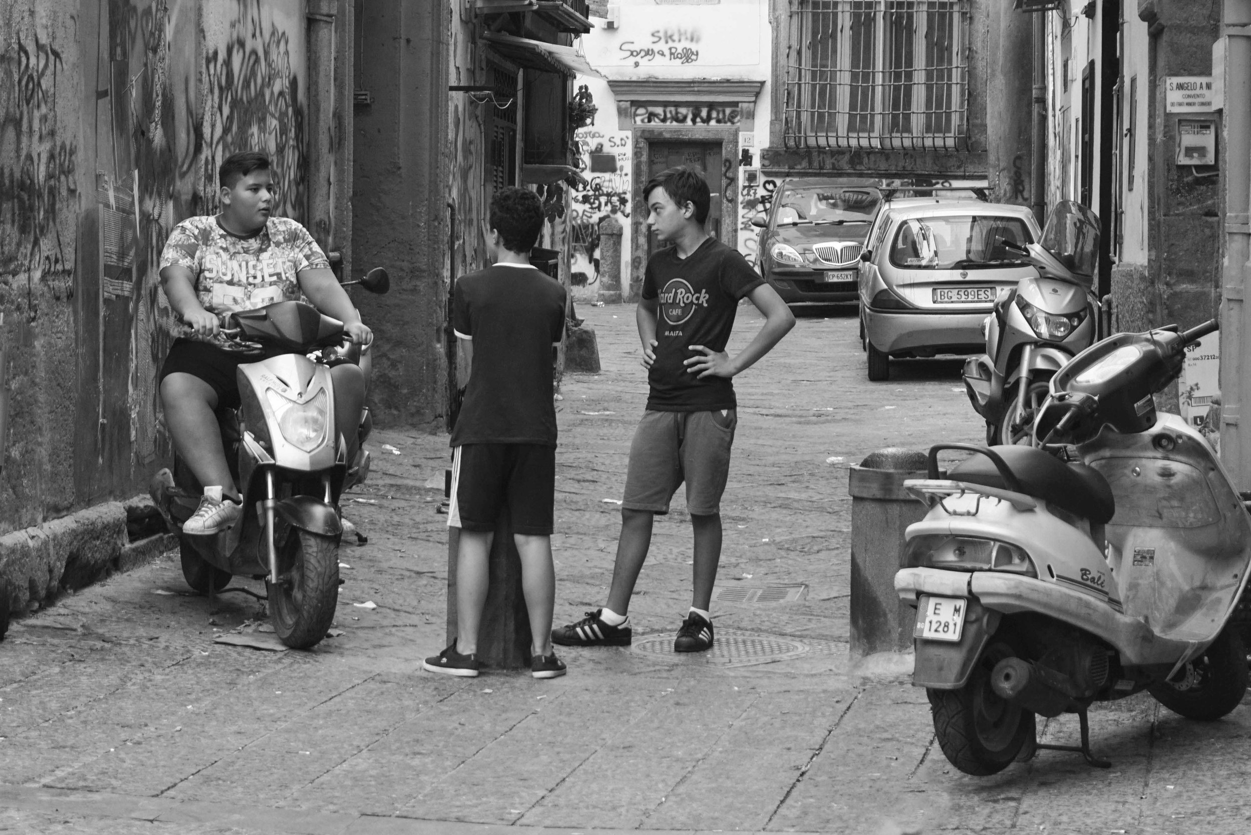 Naples' kids