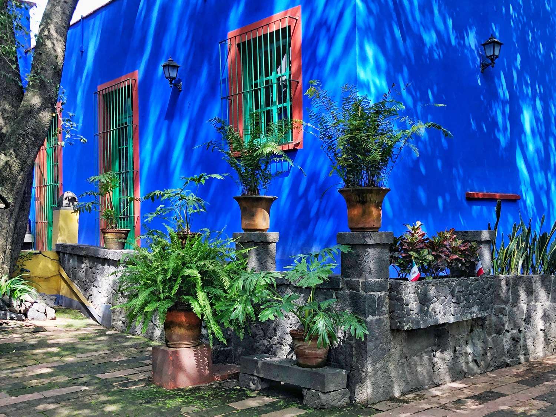 Casa Azul, Frida Kahlo, Credit: Sandra Laurin