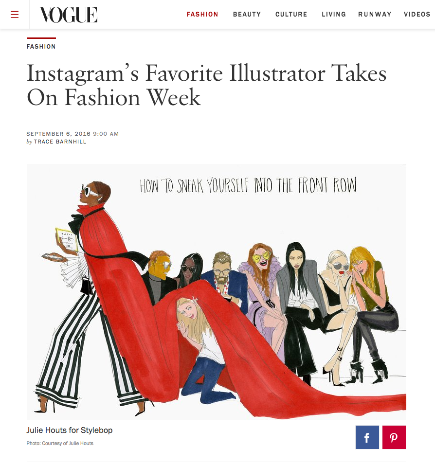 Featured on Vogue.com