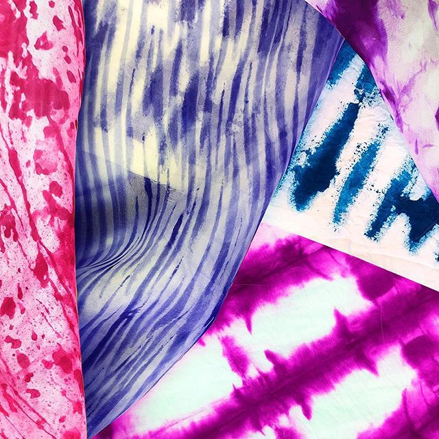 In the mood for tie dye!?! We've got you covered with your SS'20 collection! . . . . . #tiedye #indigo #heattransfer #vibrant #color #dye #fashion #surfacedesign #printdesign #digitalprints #digitalprinting #inspiration #fashion #garmentdistrict #garmentdistrictnyc