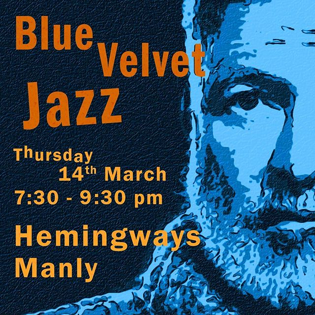 Tomorrow night (Thurs 14th) we're back at Hemingways Manly! 7:30-9:30pm.  If we're to believe the weather app it will most probably be raining outside - hooray! I can't think of a better place to be than Hemingways + cool jazz. It's the spice of life.  Did you know that on Thursday nights Espresso Martinis are the deliciously special price $12 🍸☕️❤️ . . . .  @hemingwaysmanly #cooljazz #livejazz #northernbeaches #sydneyjazz #livemusic #bluevelvetjazz #northernbeaches #sydneyeats #sydneywine #sydneyfoodie #sydneyfoodblogger #urbanlisted #manlylocal #zomatoaus #sydneyfood #zomatosydney #northernbeacheslocal #manlyeats #yelp #tripadvisor #manlybeach #locallivingmanly #lovemanly #manlyJazz #weddingmusic #sydneywine #coffeesydney