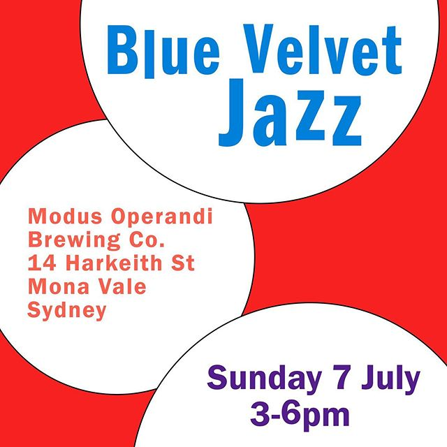 Sunday 7 July we're back at Modus Operandi in Mona Vale. It's potentially chilly ❄️☃️so rug up - layers are recommended - and settle in for some winter jazz and the best brews on the beaches. 3-6pm 🍺🍺🍺 Winter. Jazz. Best brews. Yes. #mobrewing #northernbeaches #northernbeacheslocal #winterbeers #brewery #cooljazz #urbanlisted #monavale #zomatoaus #sydneyfood #zomatosydney #northernbeacheslocal #yelp #jazztrio  #winterjazz