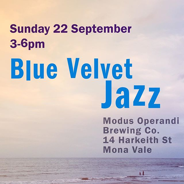 We're playing this afternoon. Rumour has it we'll be joined by Double Bass extraordinaire Maxwell Madden.... Modus Operandi Brewery 3pm - 6pm - perfect Spring Sunday afternoon activity.  #livejazz #northernbeaches #sydney #brewerylife #manlyjazz #zomatoaus #yelpsydney