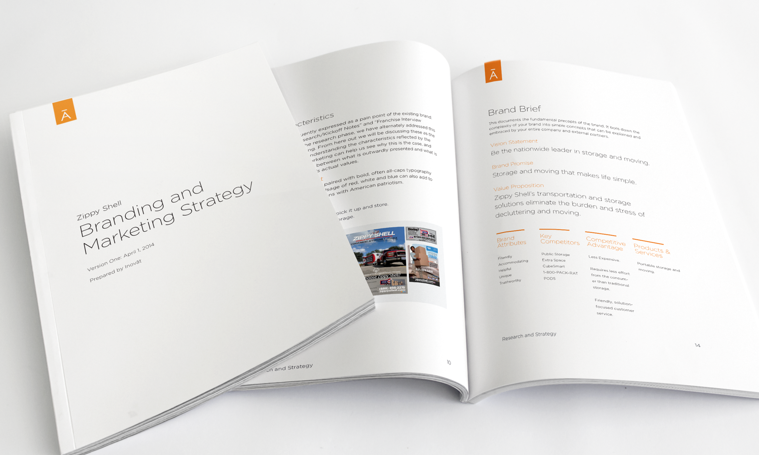 The final report totaled 100 pages not including the raw data readouts and covered competitive analysis, audience insights, market segmentation, branding, social media and marketing strategy.