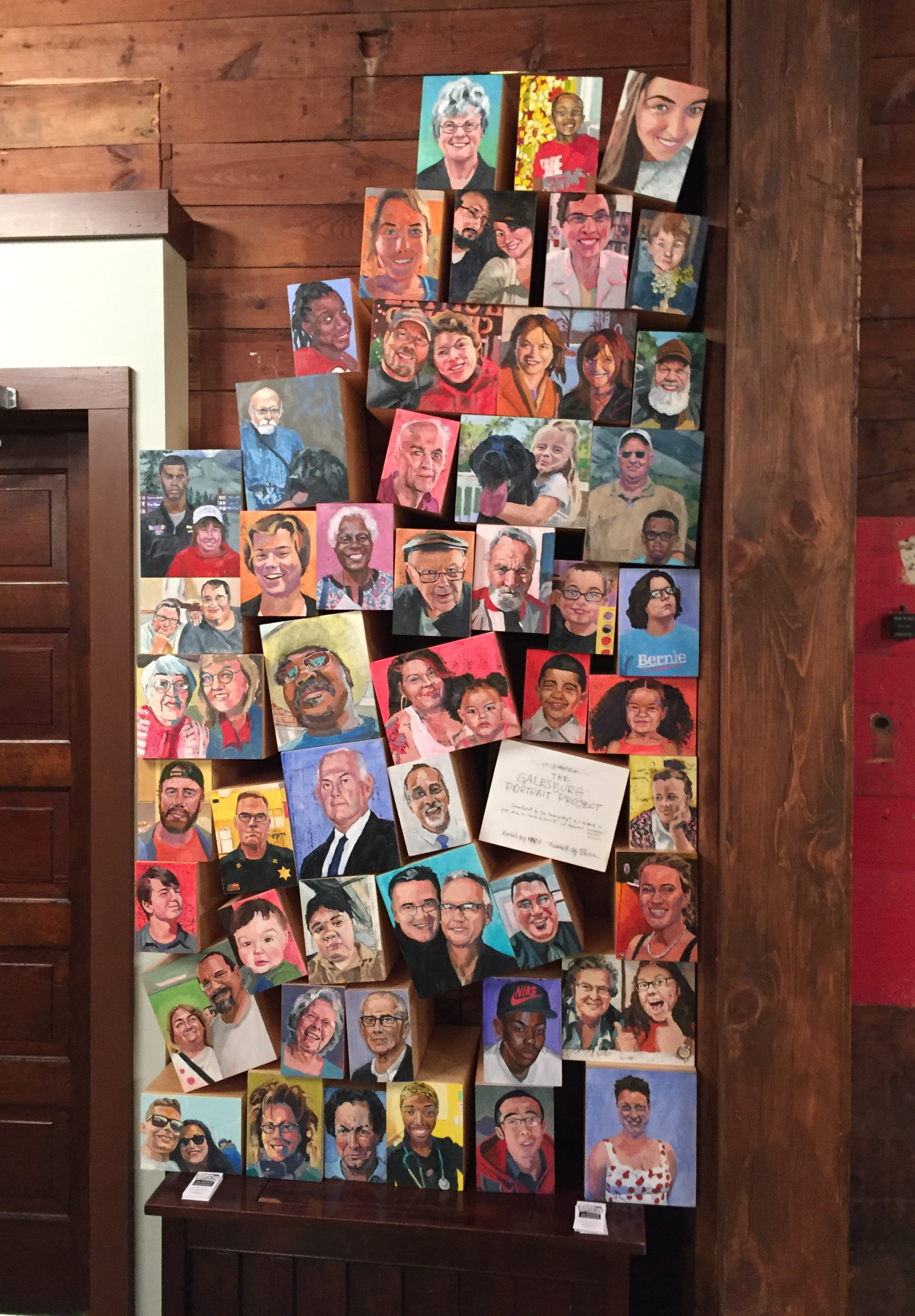 16% of the Galesburg Portrait Project @ Prairie Players production of Thornton Wllder's  Our Town
