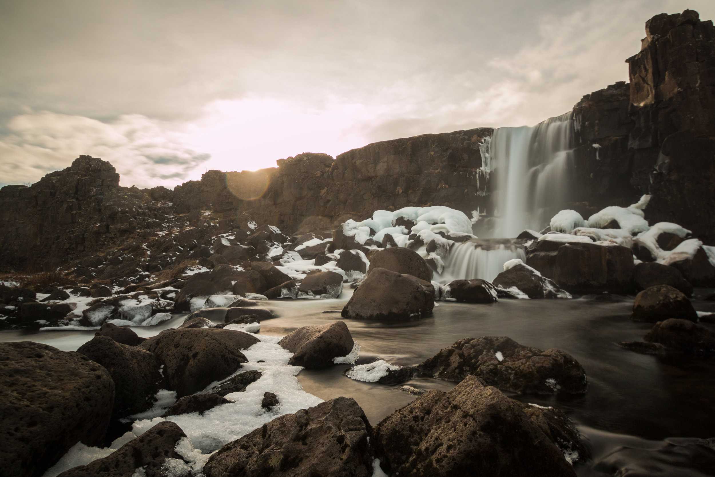 Another great use for 10 stop ND filters – waterfalls.