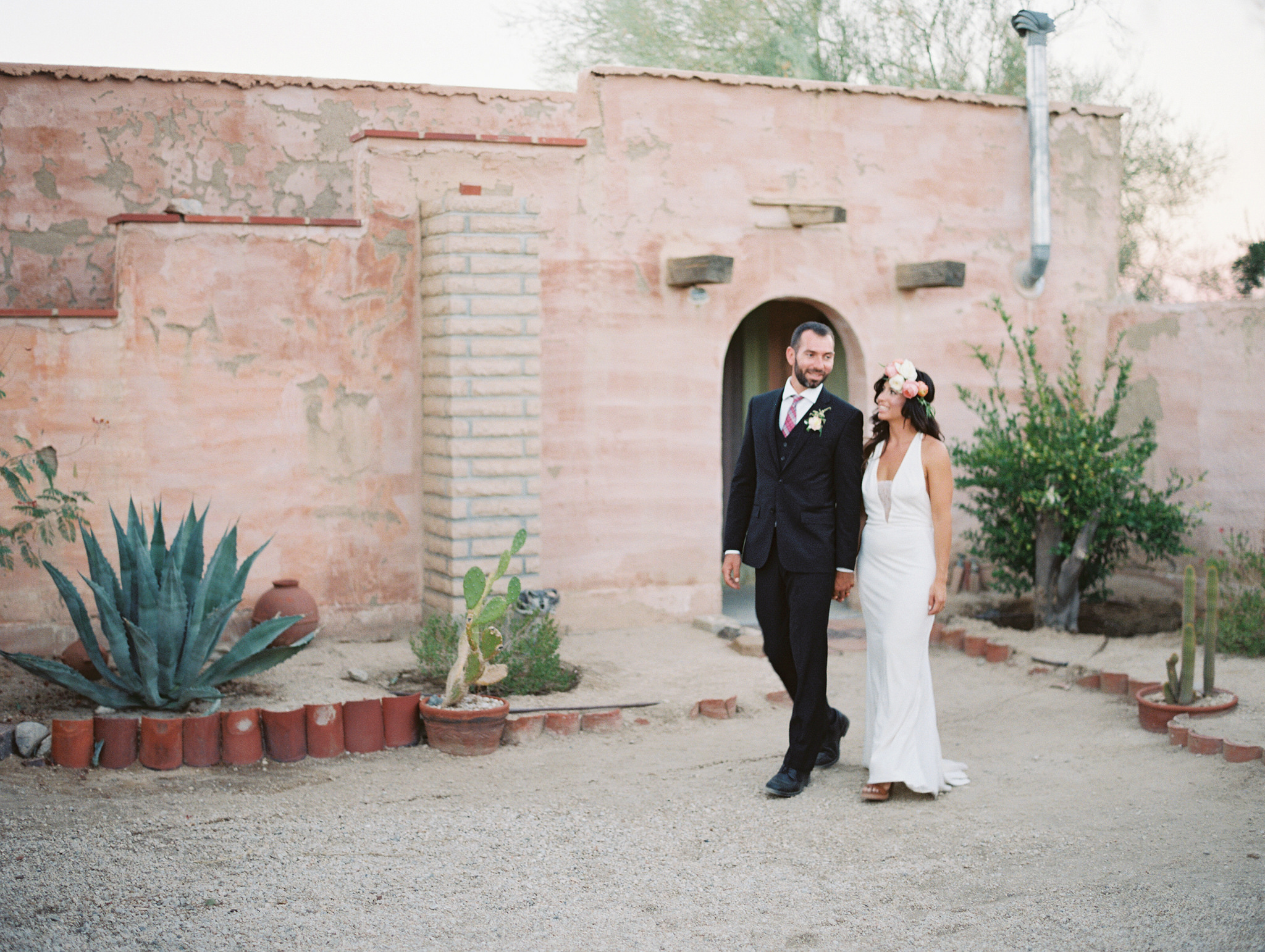 Romantic and Bohemian 29 Palms Inn Wedding, Art & Soul Events