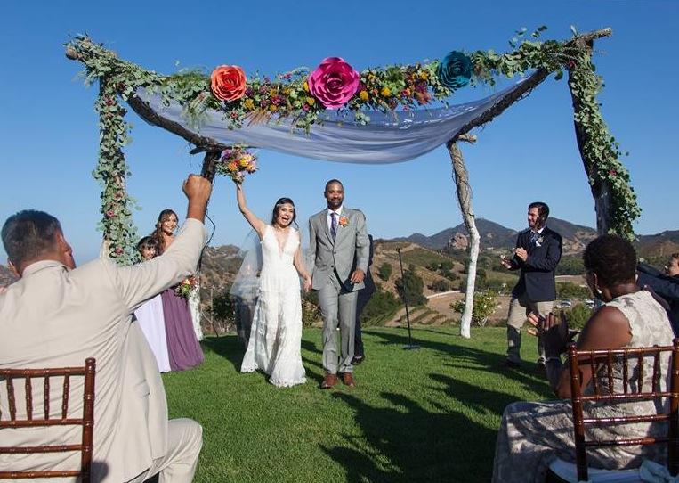 Photographer: Lark & Lavendar, Florals:  Revel Petals