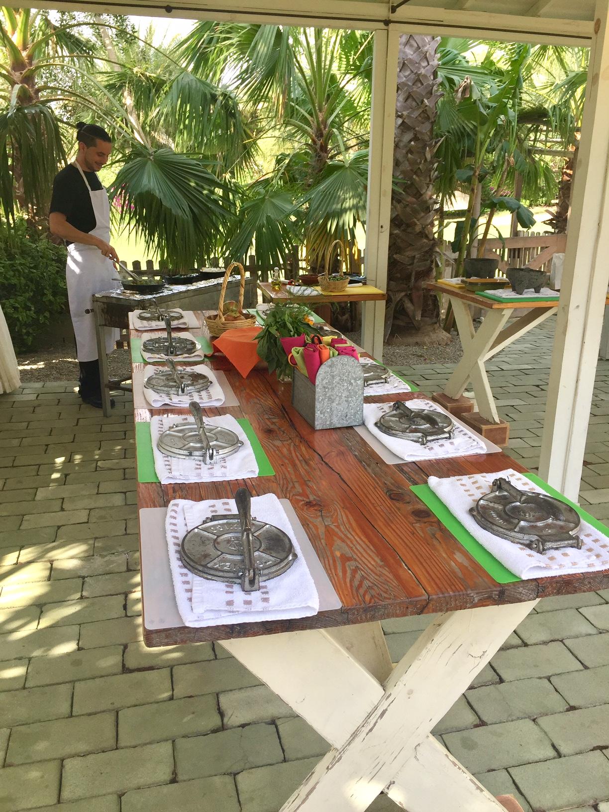Flora Farms Wedding- Cooking Class