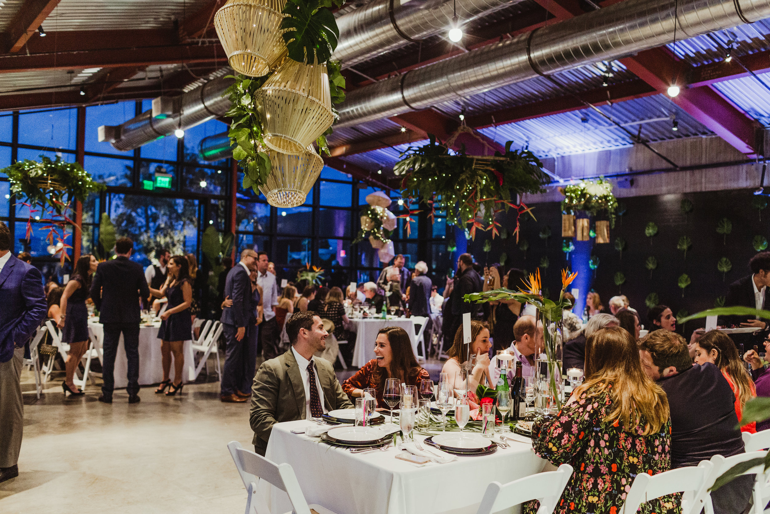 Tropical Industrial Culver City Wedding, Planning: Art & Soul Events