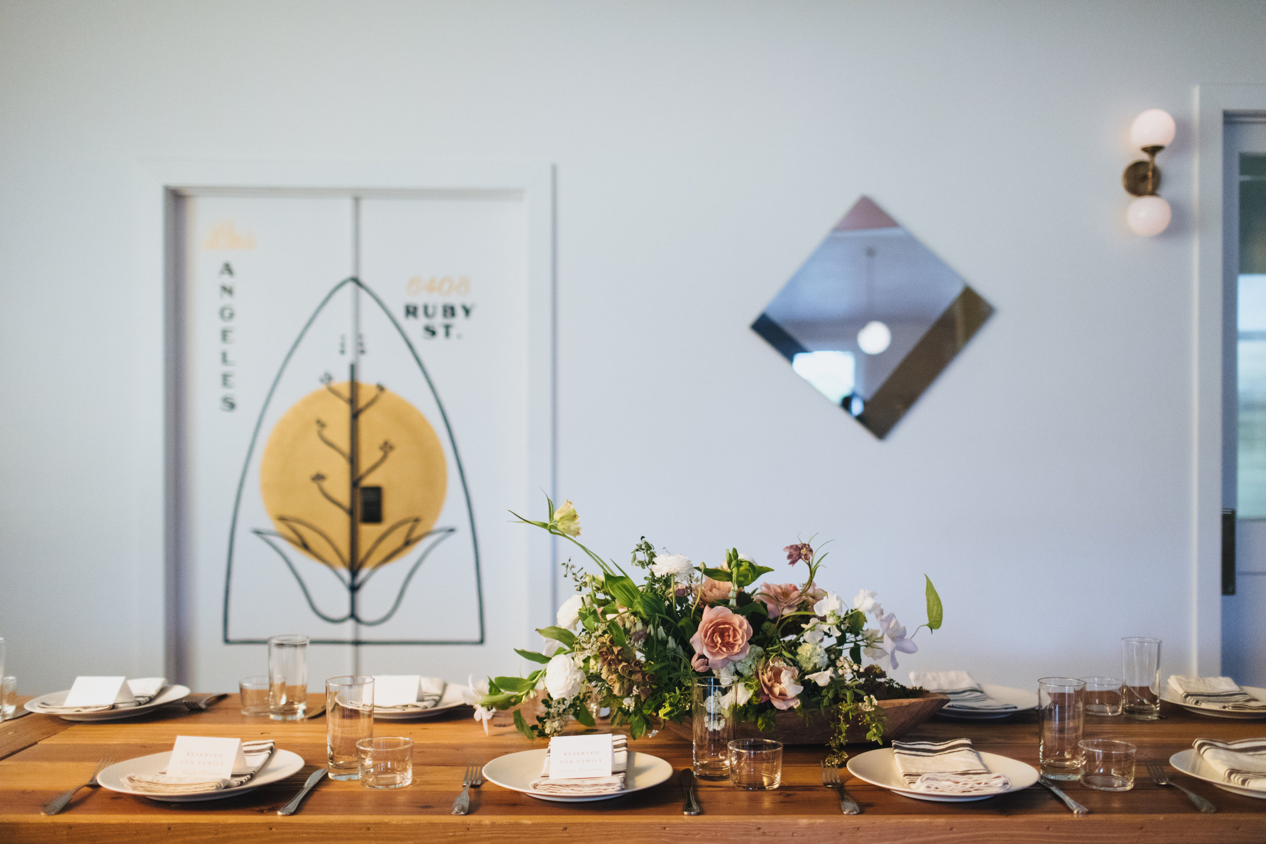 Minimal & Modern Ruby Street Wedding, Art & Soul Events, Rad + In Love