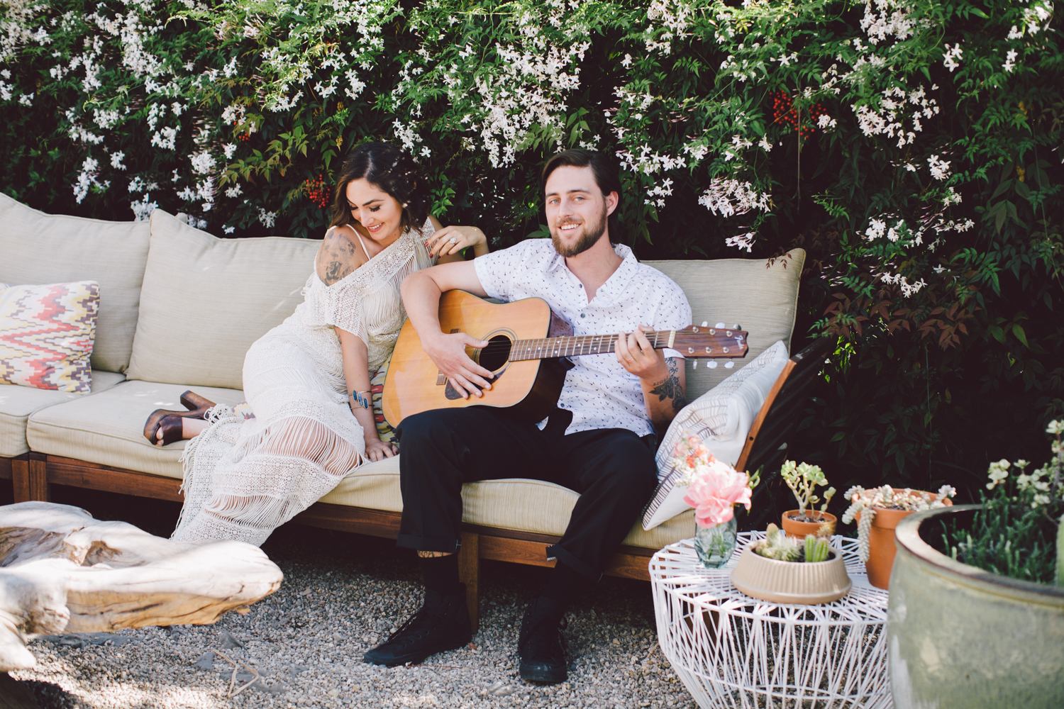 Ojai Bohemian Elopement at Tipple & Ramble, Planned & Designed by Art & Soul Events