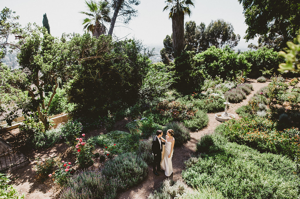 The Paramour Mansion Lower Gardens, Best Los Angeles Wedding Venue, Planning by Art & Soul Events, EP LOVE Photography, Romantic Outdoor Estate Wedding