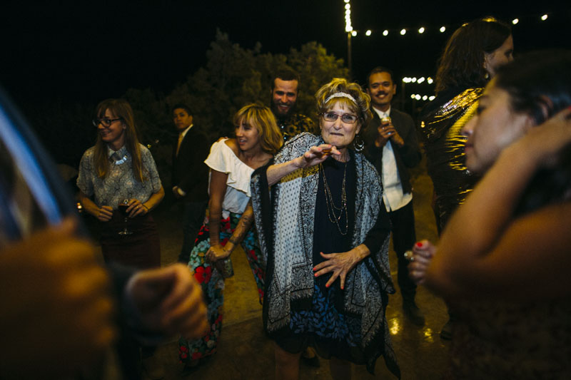 _90A7833.jpgTwo beautiful brides walking down the aisle, Black & White Lace Dress & Pants, Art & Soul Events, Talawahee Ranch Joshua Tree Wedding, Dance Party