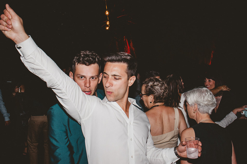 29 Palms Inn Wedding, Joshua Tree Desert Wedding Venue, Wedding Guests Dancing